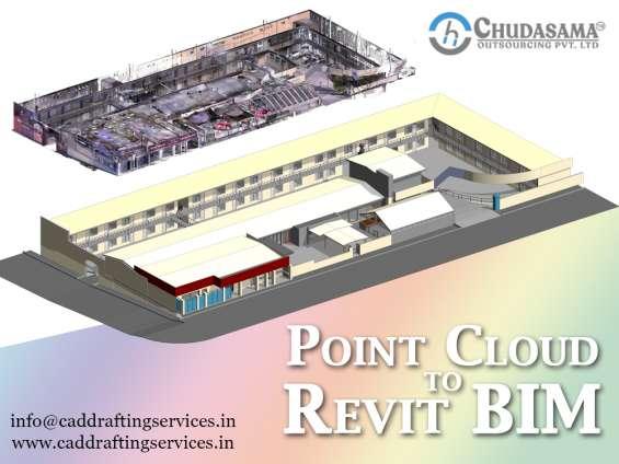 Point cloud to revit bim