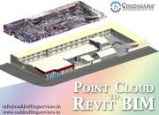 Point cloud to revit bim services | scan to modeling