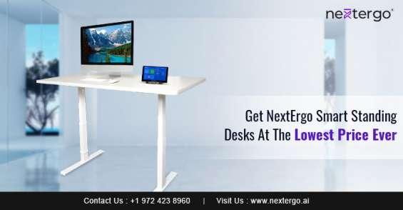 Get nextergo smart standing desks at the lowest price ever