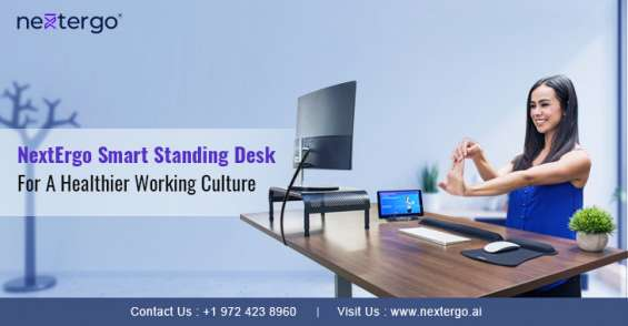 Nextergo smart standing desk for a healthier working culture