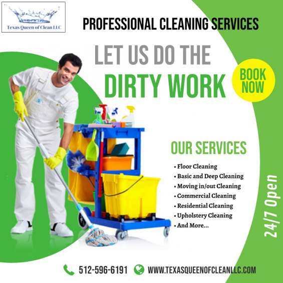 Call us : 512-596-6191, deep cleaning service in austin