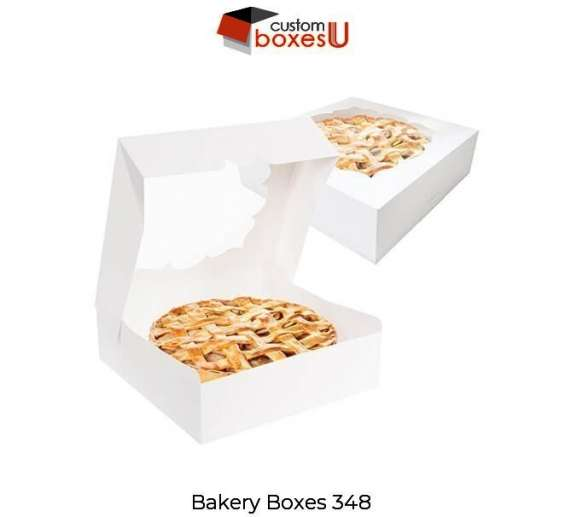Cardboard custom bakery box for the safety of bakery product