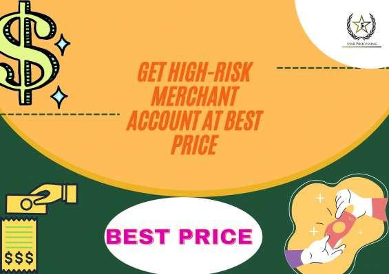 Get high-risk merchant account at best price