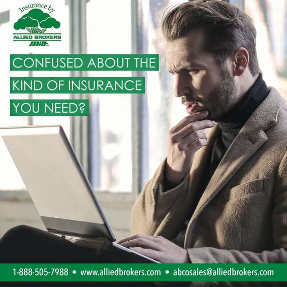Confused about the kind of insurance you need?