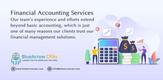 Get expert financial accounting service provider – bluearrowcpa